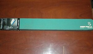 Keyboard Wrist Rest Support Pad Green Cushion for PC Keyboards Foam Support Pad