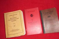 RAILROAD BOOKS - ST LOUIS-SAN FRANCISCO RULES AND REGULATIONS SANTA FE STATIONS