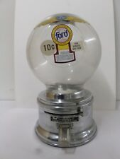 Vintage Ford 10 Cent Gumball Candy Machine Plastic Globe Works Key Included