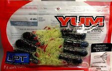 """Yum Wounded Tube 3""""  LPT + Salt Wounded Melon Neon #YWMT3124"""
