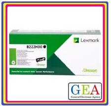 B222H00 Lexmark Toner nero ORIGINALE  B2236DW MB2236ADW MB2236ADWE