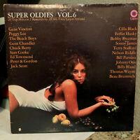 "SUPER OLDIES Vol. 6 Compilation (Double) - 12"" Vinyl Record LP - EX (Cheesecake)"