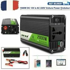 Convertisseur 12V à 220V 2000W/2400W pure sinus onduleur Vehicle Power Inverter