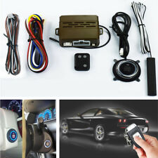 Auto Car Alarm System Induction Security One Button Start Remote sensing Control