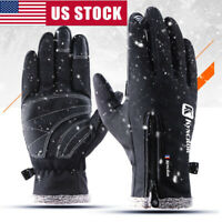 Men Women Winter Snow Ski Snowboard Gloves Waterproof Thermal Motorcycle Gloves