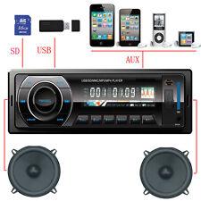 AUTORADIO USB SD MP3/WMA AUX 1DIN SINGLE-DIN RADIO DE COCHE 200W ESPAÑA