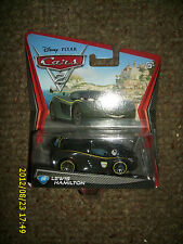DISNEY PIXAR CARS 2 LEWIS HAMILTON  #24 TOY CAR