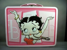 Betty Boop Lunchbox Metal Raised Embossing New