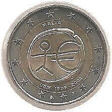 2 Euros - MALTE - 2009 // Pièce NEUVE (UEM)