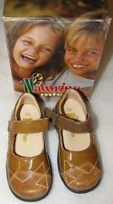 NEW Naturino Brown Mary Jane Shoes -NIB - 23 Euro/ 7 US -RV $84