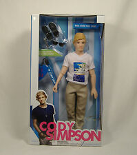 "CODY SIMPSON BACK STAGE PASS SERIES 11"" BARBIE TYPE DOLL MISP GOLD COAST TEE OZ"