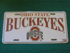 OHIO STATE BUCKEYES LICENSE PLATE OSU BUCKEYE SIGN L89