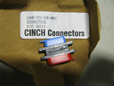 CINCH CONNECTOR WITH CONTACTS # DCDA25CS  NSN: 5935-01-375-2283