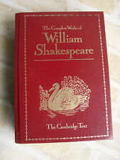 THE COMPLETE WORKS OF WILLIAM SHAKESPEARE - 1988 - THE CAMBRIDGE TEXT*
