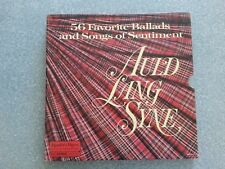 Auld Lang Syne: 56 Favorite Ballads and Songs of Sentiment 4 Lps Records