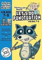 Let's do Punctuation 7-8 by Brodie, Andrew (Paperback book, 2017)