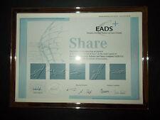 E.A.D.S. now Airbus Industries: Directors Specimen