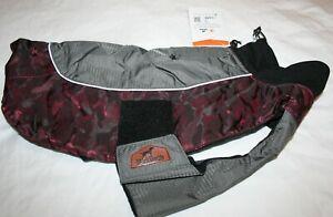 Blackdoggy Reflective Windproof Waterproof Fleece Lined Dog Raincoat Jacket - Md
