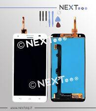 Schermo Display Touchscreen Huawei 3X - G750 bianco biadesivo + kit riparazione