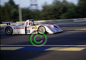 Racing Original 35mm Slide F1 Jan Lammers - Lola B2K/10  2000 Le Mans 24 Hours