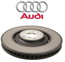 NEW Front Vented Disc Brake Rotor 380mm OD Genuine For Audi A8 Quattro SQ5