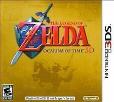 NEW - The Legend of Zelda: Ocarina of Time 3D  --  Nintendo 3DS Nintendo Selects