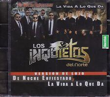 Los Inquietos del Norte DE Noche Enfiestado CD NEW SEALED Nuevo