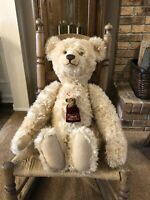 "26""Steiff Mohair Bear Ernst....Elsa w/3.5"" #230/1500 From 2007 Made in Germany"