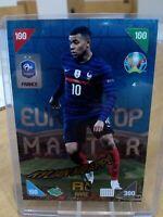 Panini Adrenalyn XL UEFA Euro 2020-2021 Kylian Mbappe Top Master Rare Card