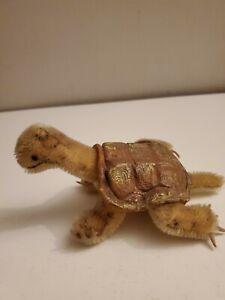 Steiff Little Stuffed Turtle Tortoise mohair