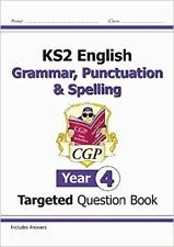 KS2 English Targeted Question Book: Grammar, Punctuation & Spelling - Year 4 New