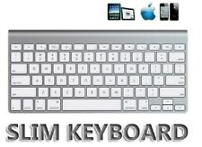 Multimedia Slim Wireless Bluetooth 2.4GHz Keyboard for iPad 2, 3, Android, PC an