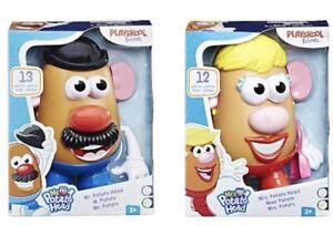 Playskool Friends Mr. & Mrs. Potato Head Classic Retro Toys Complete Set Sealed