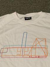 Peter Saville Tate Museum Rare T-Shirt Sz S Multicolour Herzog de Meuron England