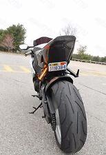 Black Smoke Flush Mount Led Turn Signal Light Blinker for T Rex Motorcycle(Fits: Mastiff)
