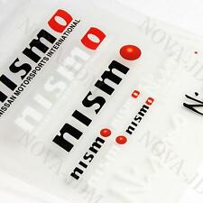 NISMO Reflective Car Door Window Vinyl Decal Sticker For NISSAN - 10pcs (Set)