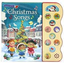 NEW Christmas Songs: Interactive Children's Sound Book (10 Button Sound)