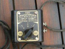Vintage Louis Marx & Co. Toy transformer cat. No. 319 30 watt