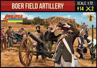 Strelets 224 -1/72 Boer Field Artillery (Anglo-Boer War) model kit