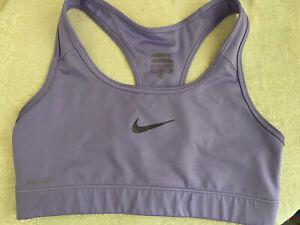 Nike pro Sports Bra Women's Small light purple