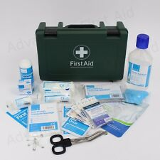 Travel & Vehicle First Aid Kit in Sturdy Box. BS8599 Compliant for Car or Van