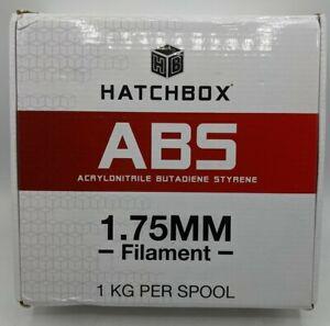 HATCHBOX ABS 1.75 MM 3D Printer Filament, RED. 1kg Spool.  Package Sealed