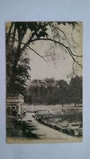 Vintage Lyon France B&W c1920s Postcard Parc de la Tête d'Or