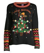 Feliz Navidad Ugly Christmas Sweater Women's XL, 16-18