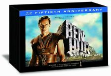 BEN-HUR Fiftieth Anniversary/3 Blu Ray/Ultimate Collector's Limited Num. Ed. NEW