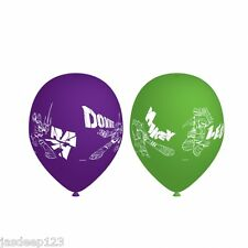 6 Teenage Mutant Ninja Turtles Latex Balloons TMNT Birthday Party Decoration