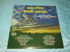 Rare Bluegrass LP: Carl Story - Gospel Revival - Starday SLP-127