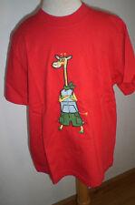SigikidT-Shirt Rot Giraffe Gr. 116 neu