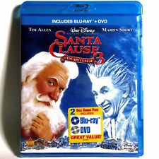 Santa Clause 3: The Escape Clause (Blu-Ray/DVD, 2007) Brand New ! Tim Allen