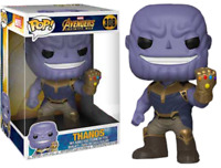 "Exclusive Thanos 10"" Funko Pop Vinyl New in Box"